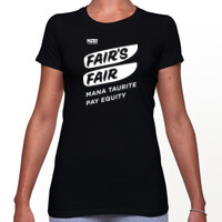 Fair's Fair Campaign T-Shirt black (fitted)