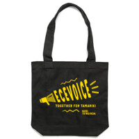 ECE Voice Tote Bag black